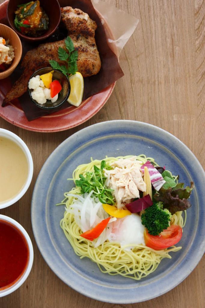 ミント神戸8F鶏食堂バルTORIICHIトリイチの夏ランチ!