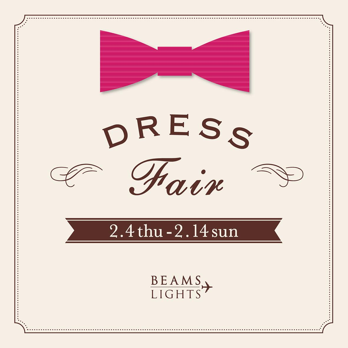 dress fair バナー
