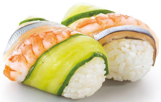 きびなごと海老の手綱寿司二貫3S6D6362s