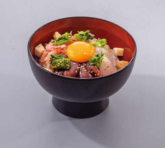 海山-春の5種盛丼