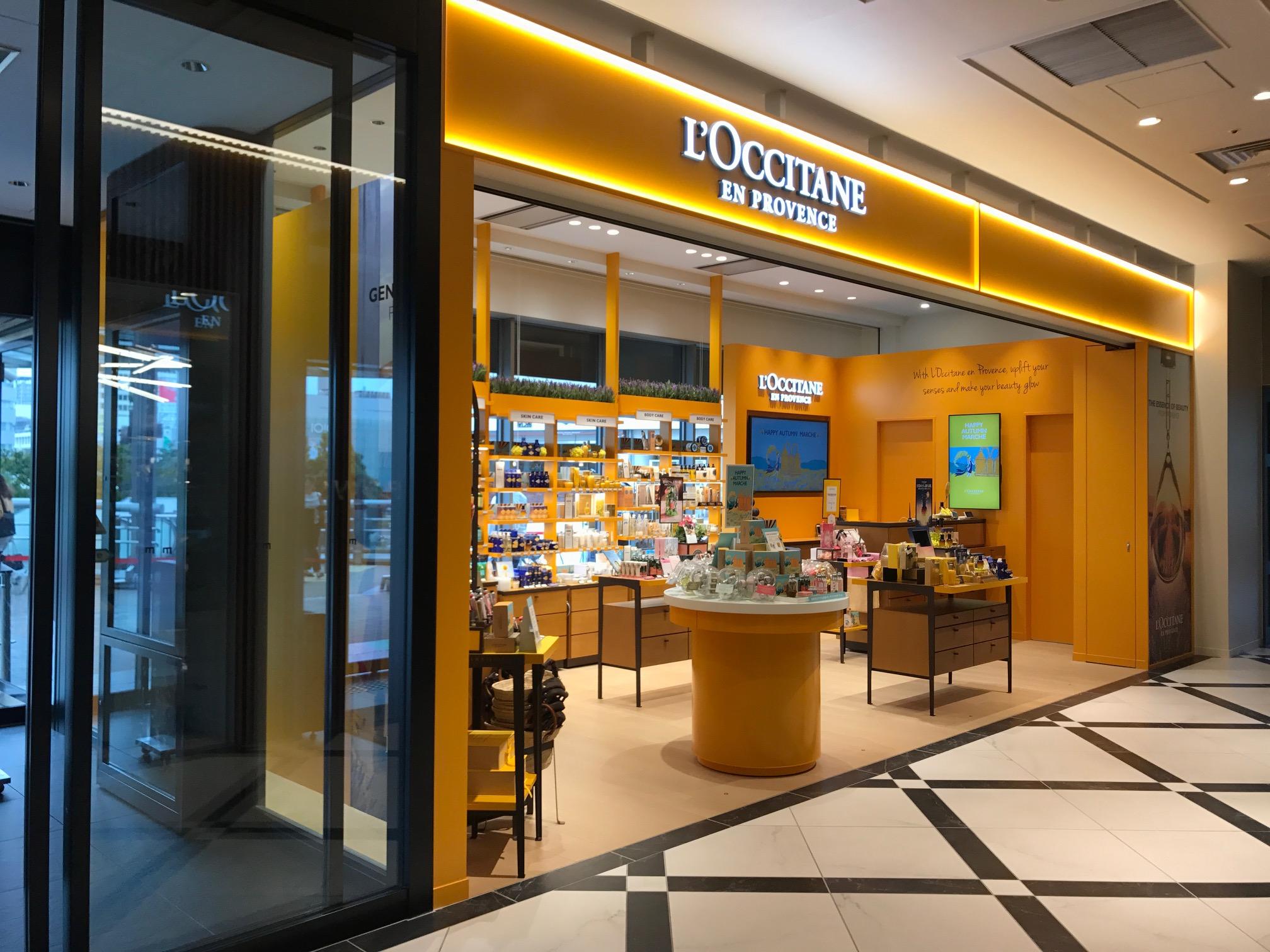 ロクシタン新店舗写真